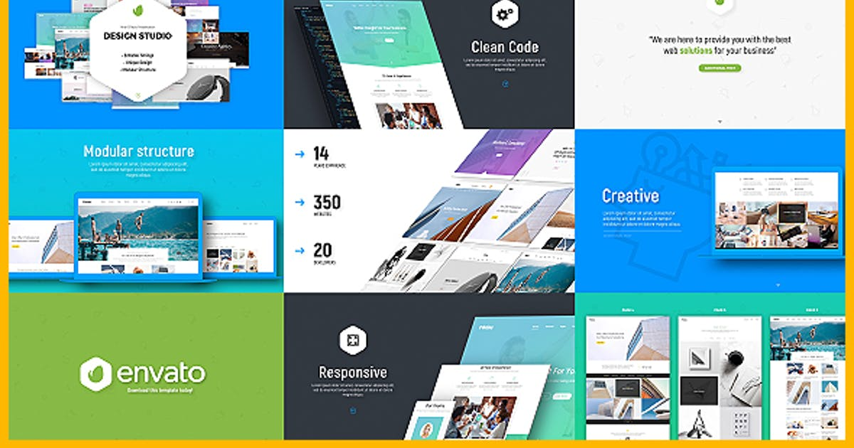 Download Design Studio / Website / Software Presentation by Nullifier