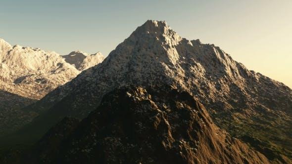 Thumbnail for Berge im Schnee bei Sonnenuntergang
