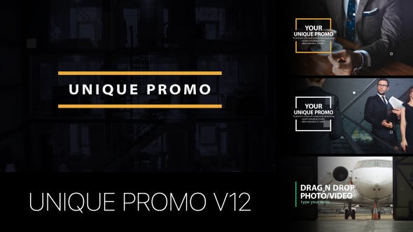 Thumbnail for Unique Promo v12 | Corporate Presentation