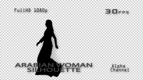 Arabian Woman Silhouette