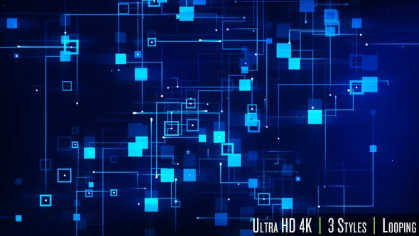 Thumbnail for 4K Digital Data of Network Technology