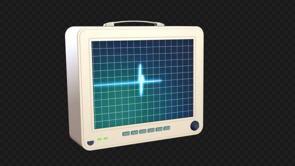 Thumbnail for 3D Heartbeat Monitor - EKG