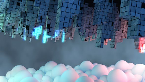Thumbnail for Sci Fi Upside Down City