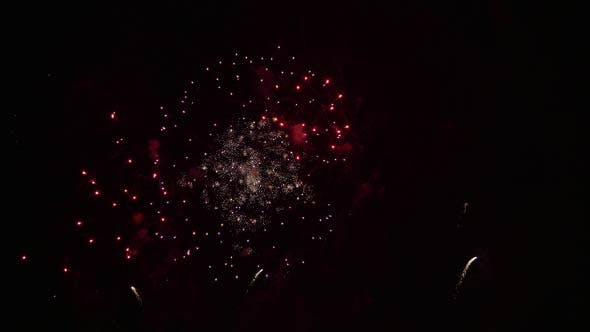 Thumbnail for Colorful Fireworks at the Night