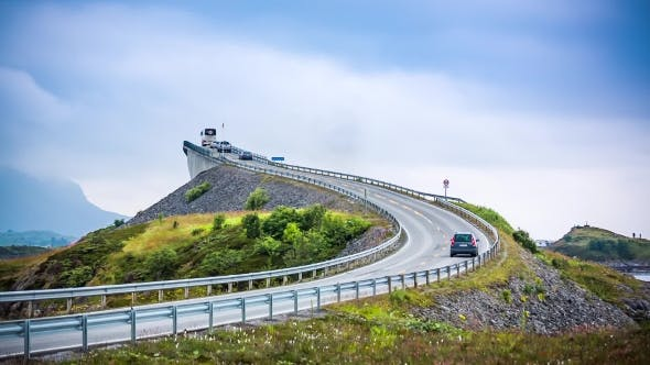 Cover Image for Atlantic Ocean Road