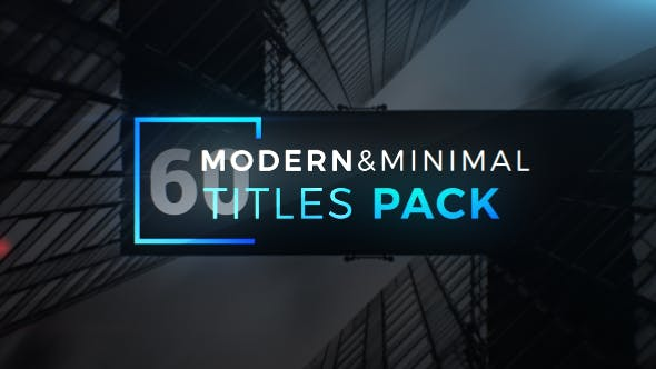 Thumbnail for Modern Minimal Titles Pack