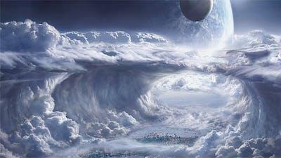 Flying Through Fantasy Clouds