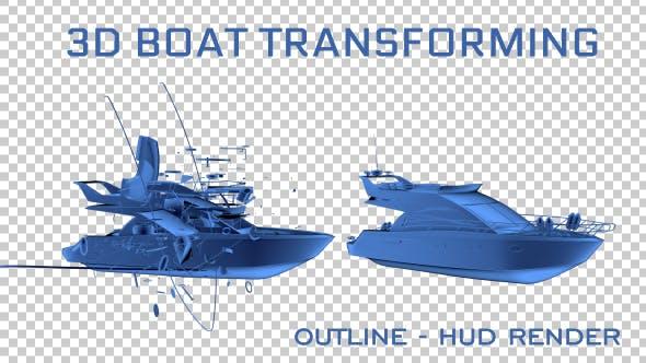 Thumbnail for 3D Boat Transforming