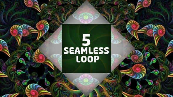 Thumbnail for Kaleido VJ Loop