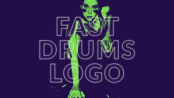 Thumbnail for Fast Drums Logo Opener