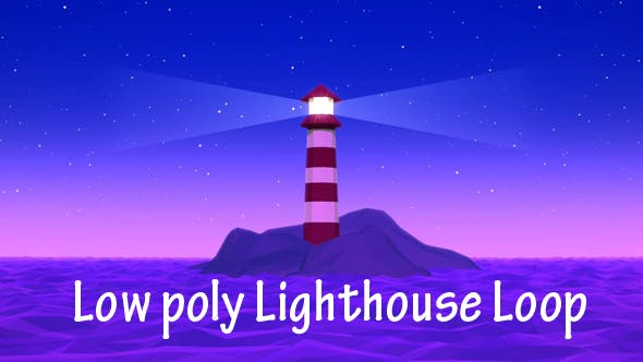 Low Poly Llighthouse Loop