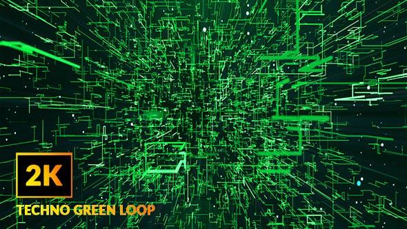 Thumbnail for 2K Techno Green Loop