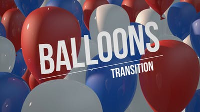 Balloons - Independence Day