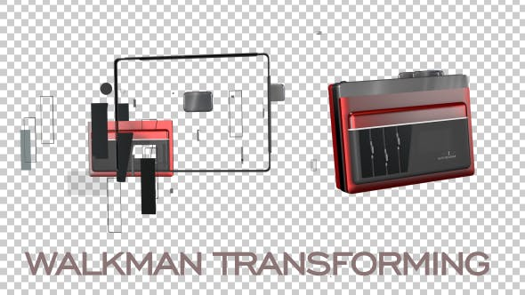 Thumbnail for Walkman - Retro Cassette Player