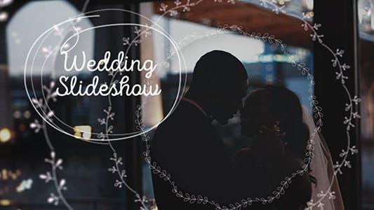 Presentación de diapositivas de la boda/ Inspiración familiar/ estado de ánimo romántico/pareja recién casado/Día de San Valentín/historia de amor