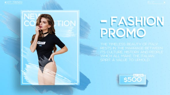 Thumbnail for Fashion Slides