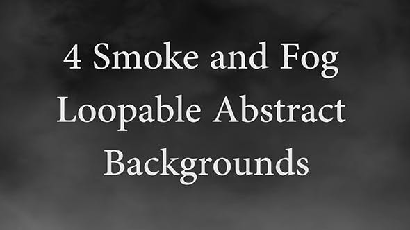 Thumbnail for Smoke and Fog Loopable Backgrounds