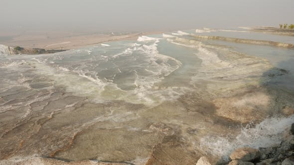 Thumbnail for Travertines with Hot Mineral Water and Steam, Pamukkale, Turkey