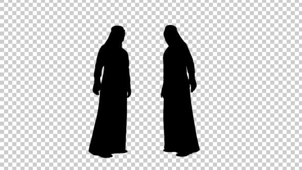 Thumbnail for Arab Businessman Silhouette
