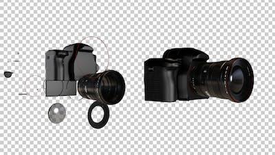 Photography Camera Transforming