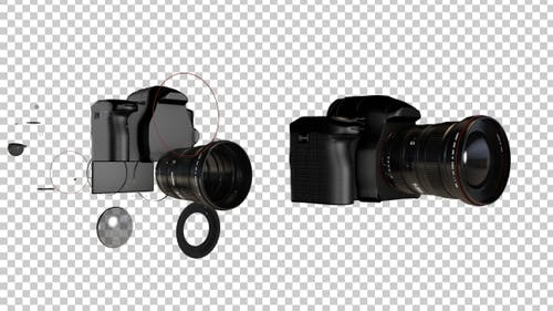 Fotografie-Kamera-Transformation