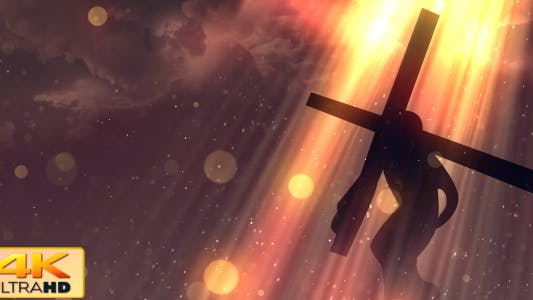 Thumbnail for Worship Background 2 - Crucifixion