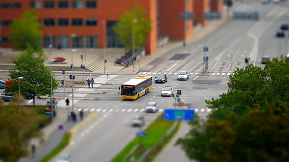 Thumbnail for City Traffic At Rush Hour