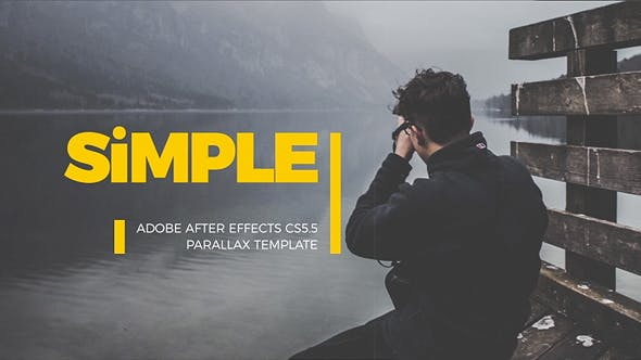 Thumbnail for Simple Parallax Photo Gallery | v.3