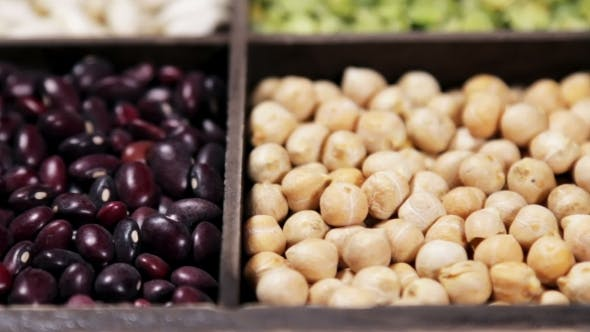 Thumbnail for Range of Different Types of Beans, Peas, Lentils