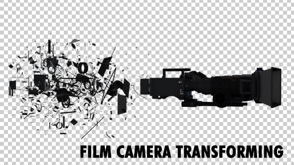 Thumbnail for Professional Film Camera Transforming