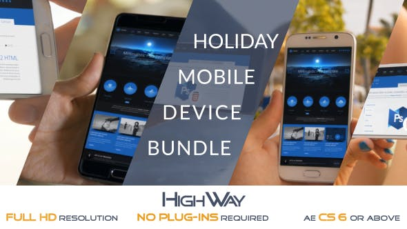 Holiday Mobile Device Bundle   Match Moving