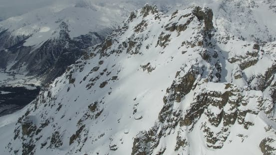 Thumbnail for Aerial View of the Mountains From a Height
