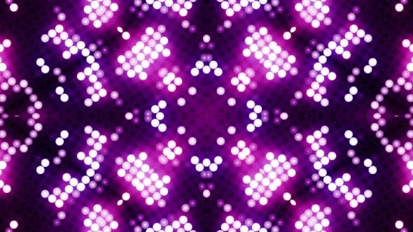 Thumbnail for Red-blue Led Animated VJ Background