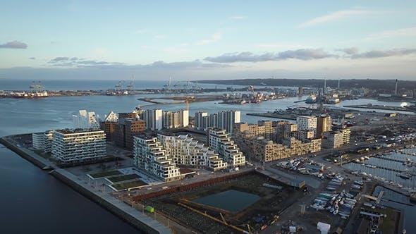 Aarhus Docklands In Denmark