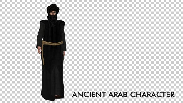 Thumbnail for Ancient Arab Character Walking