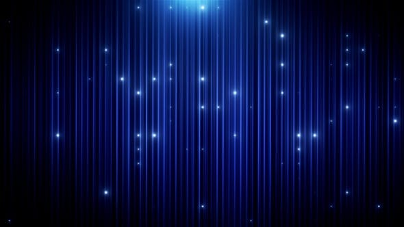 Cover Image for Blue Glitter Led Animated VJ Background