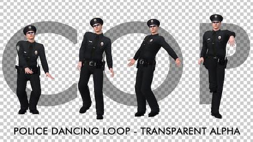 Dancing Police Officer
