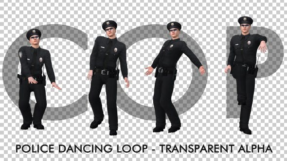 Thumbnail for Dancing Police Officer