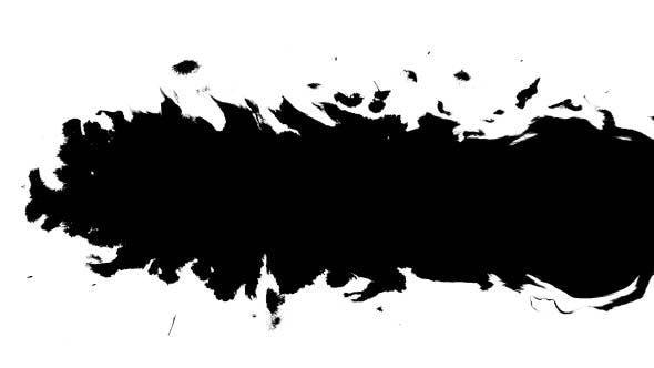 Thumbnail for Several Ink Drops From Right To Left on Wet Paper 03