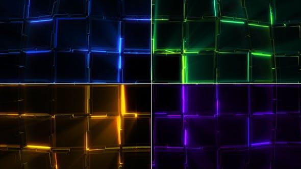 Thumbnail for Light Squares Motion