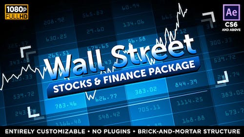 Wall Street - Stock Market and Finance Package