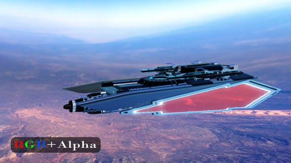 Thumbnail for Spaceship Above Planet