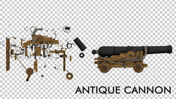 Thumbnail for Antique Medieval Cannon