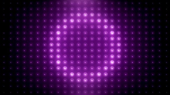 Thumbnail for Pink Led Loop Animated VJ Background