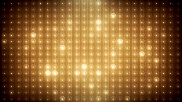 Thumbnail for Gold Glitter Led Animated VJ Background