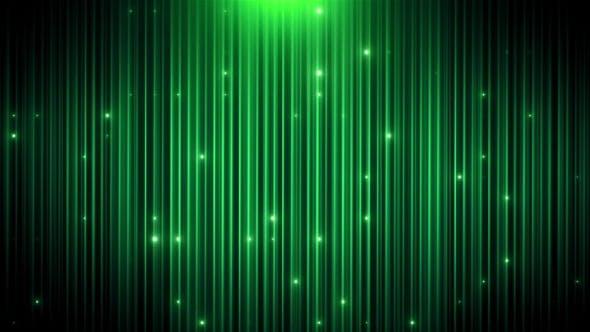 Thumbnail for Green Glitter Led Animated VJ Background