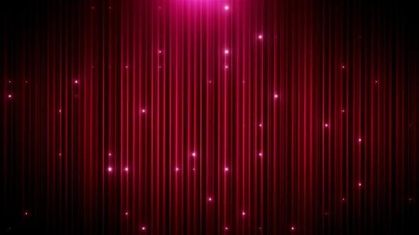 Thumbnail for Red Glitter Led Animated VJ Background