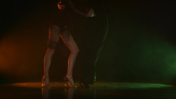Thumbnail for Dance Element From the Jive, Pair of Champions. Color Background