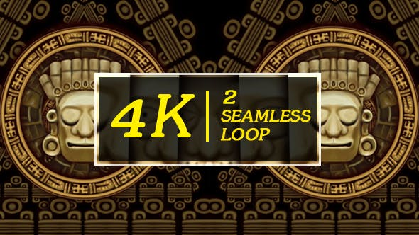 Thumbnail for Mayans Background VJ Loops Part 2