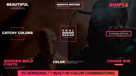 Thumbnail for Rich Colors - Titles Pack